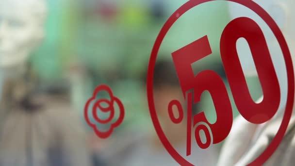 Big sale 50 percent