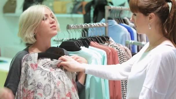 Nákupy čas v obchod s oblečením