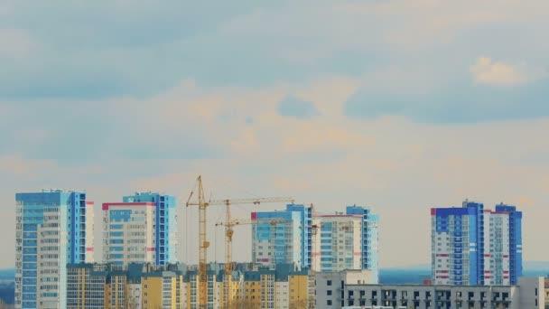 Pozemní stavitelství. timelapse