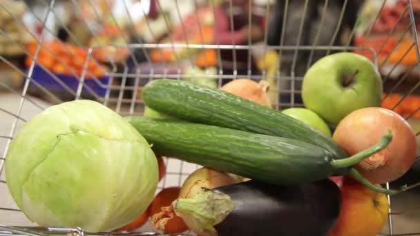 Kosár a Vértes zöldségek