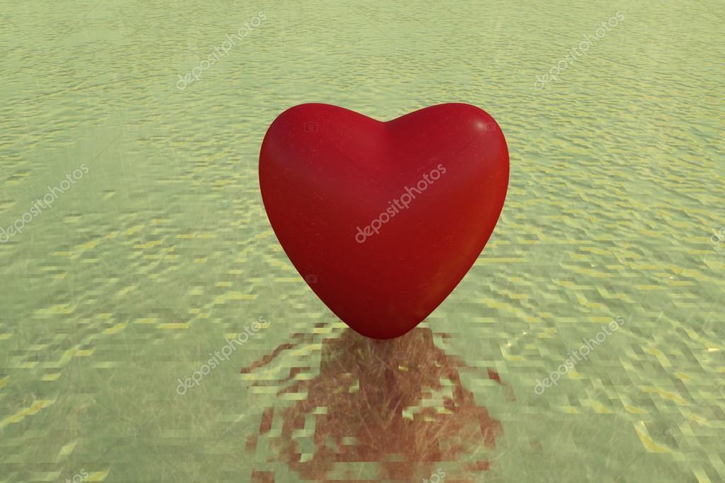 Corazón 3d En Movimiento Fotos De Stock Bombastic80 104833802