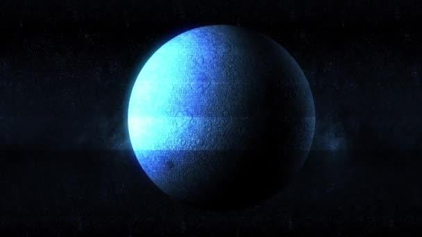 Měsíc závada Hologram efekt