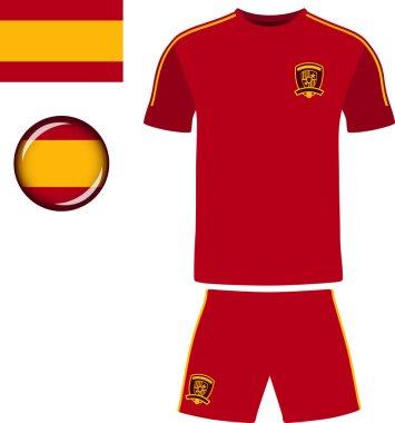Spain Football Jersey