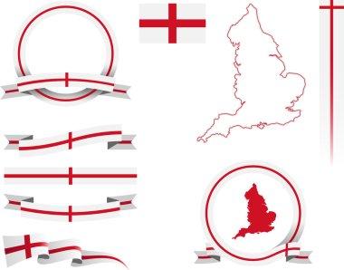 England Banner Set