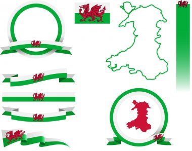 Wales Banner Set