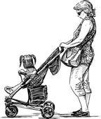 matka a její dítě