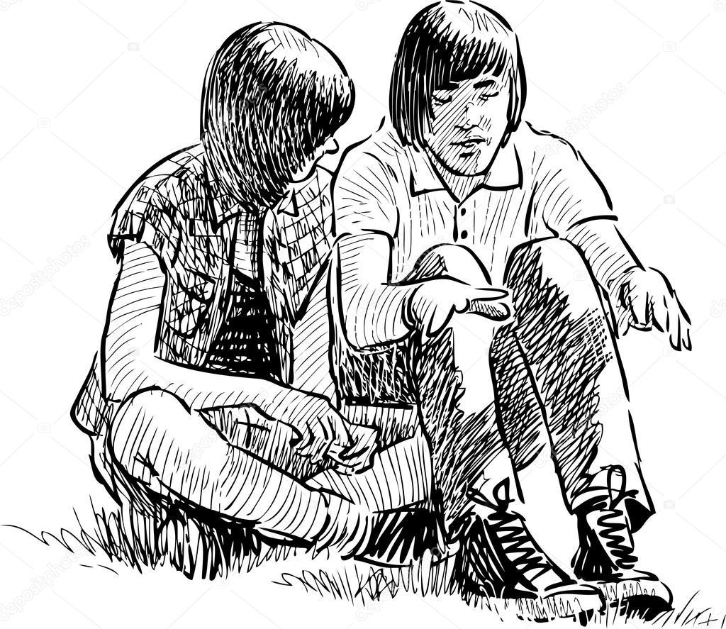tied-black-teens-by-mail-between-man
