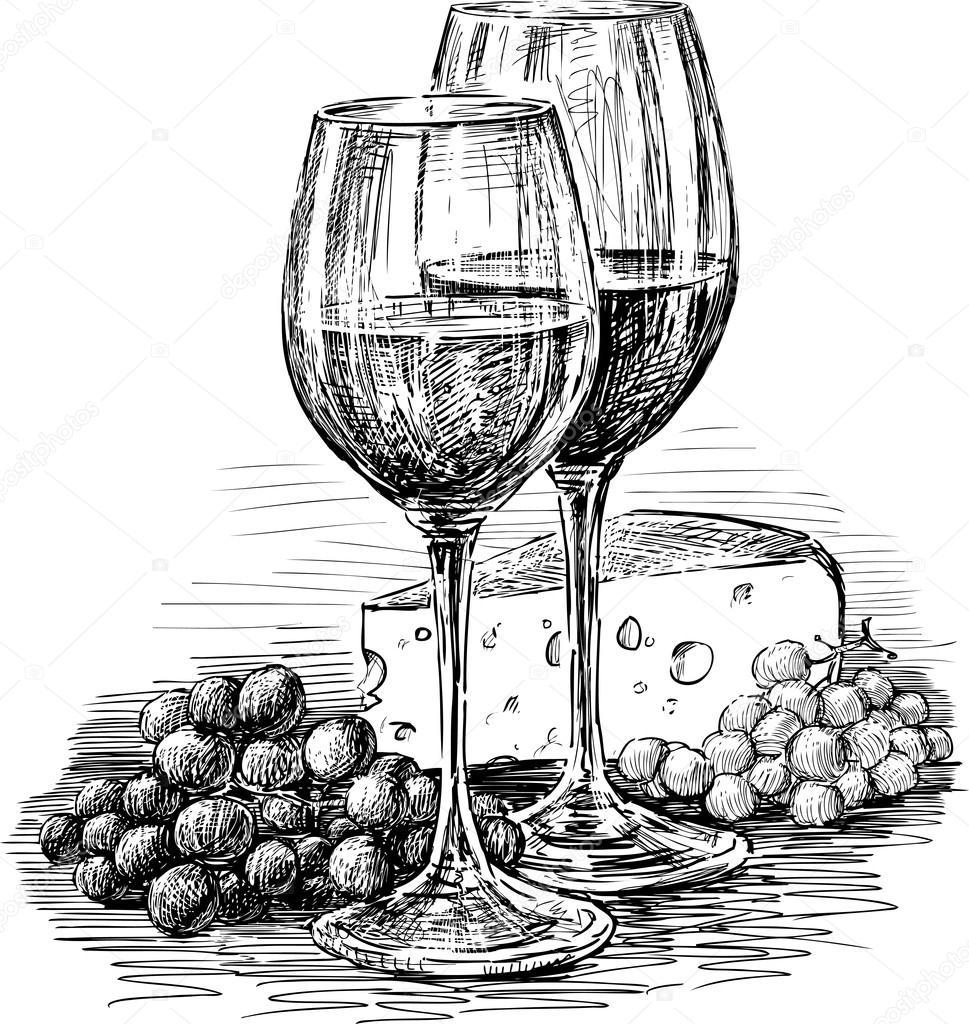Как нарисовать виноград карандашом поэтапно  видео