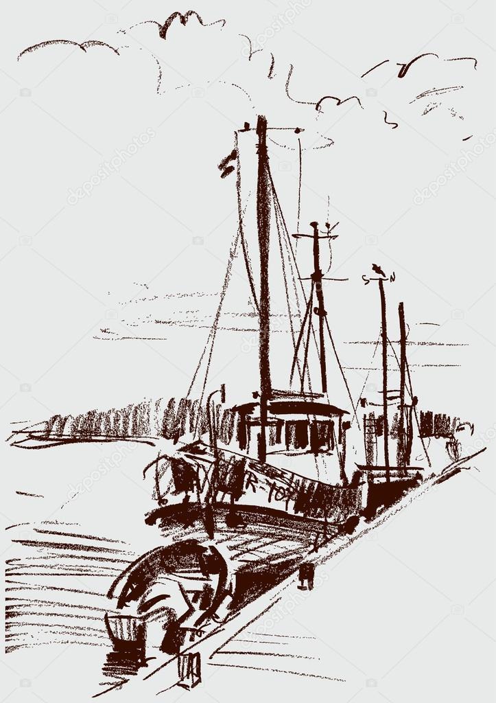 ships at berth