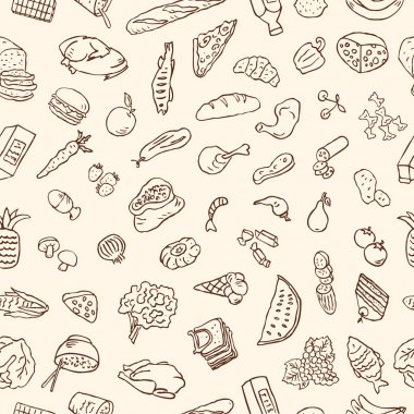 Food products pattern