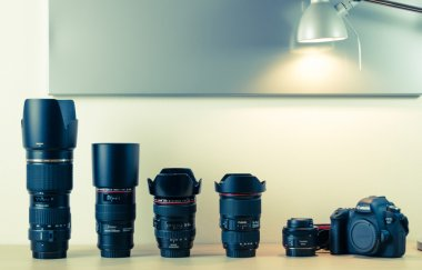 Photography equipment - Canon EOS 6d and lenses