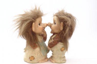 Danish troll doll(s) (close up)