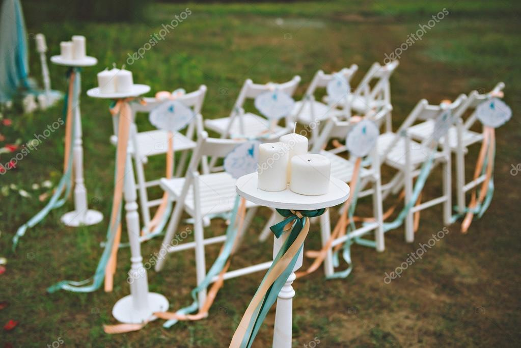 Beautiful Wedding Set Up Wedding Decor On The Lawn Wedding Arch