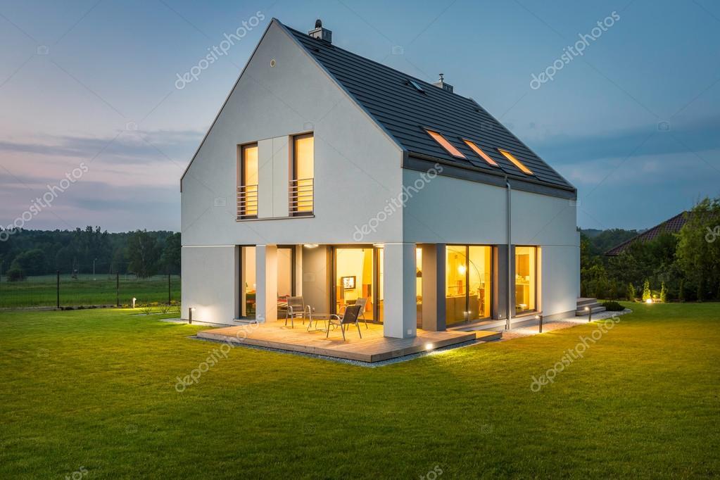 Illuminare la vostra casa u foto stock in mal