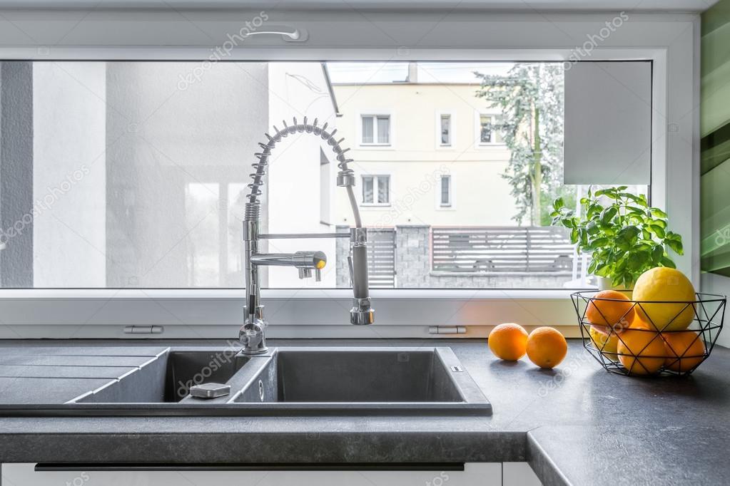 Funkcionális konyha mosogató ötlet — Stock Fotó © in4mal #120200412