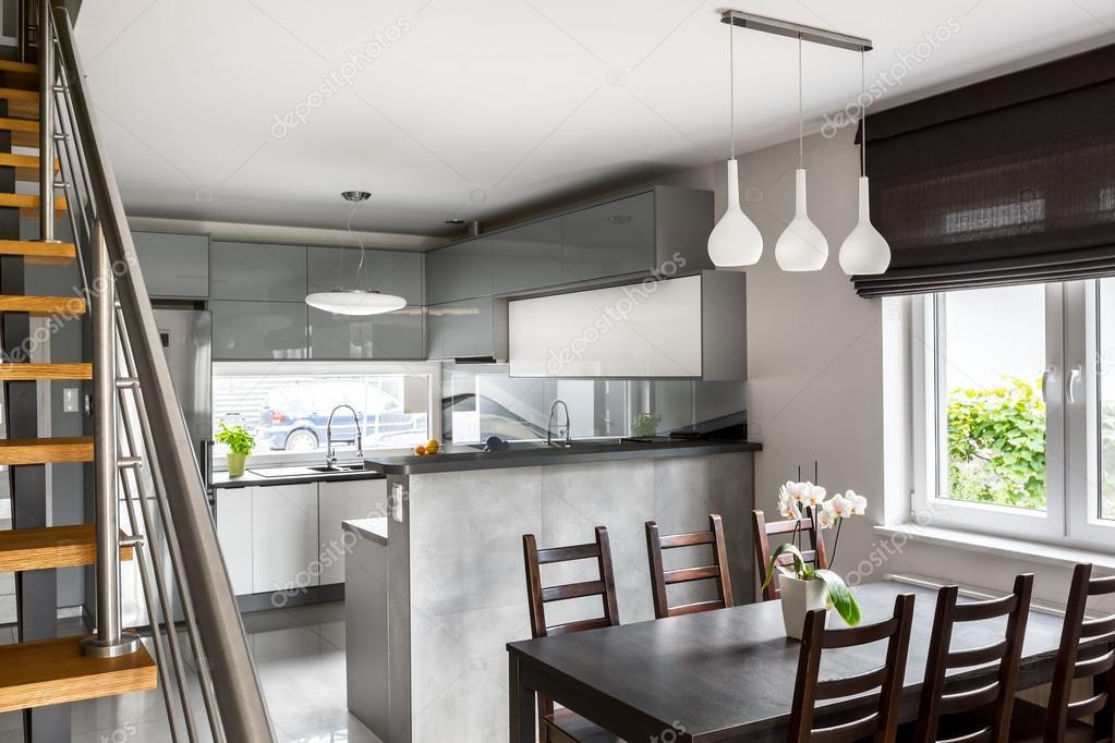 Progettazione di spazi aperti in appartamento — Foto Stock © in4mal ...