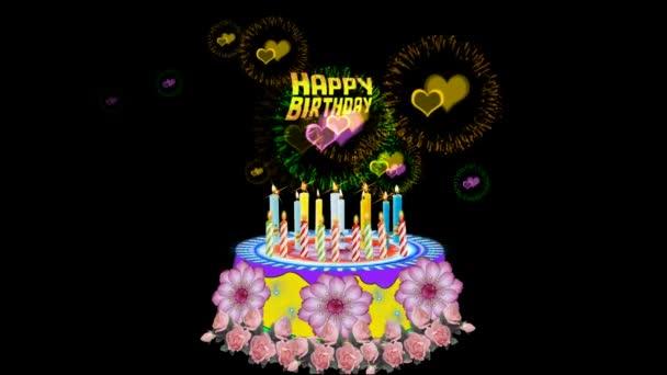 Happy Birthday Cake Stock Video C Cewi 110529838