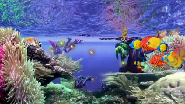 LIFE IN THE CORAL REEF with SeaHorse