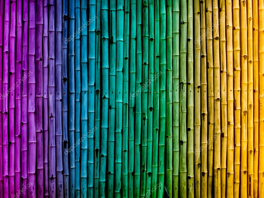 Bamboo Fence Vintage Gradient Background Wallpaper From Nature Photo By Darkfoxelixiryahoo