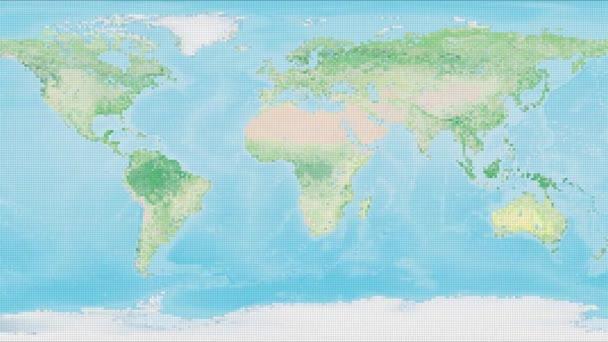 Zeměpis zeměpis mapa digitální globální svět mapa umění malý míč