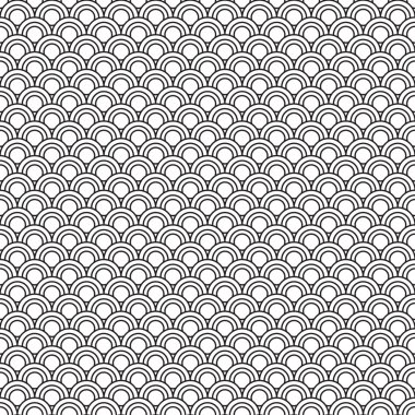Patterns Black and White curve style
