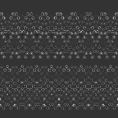 Lacy borders, ornamental patterns. Vector texture.
