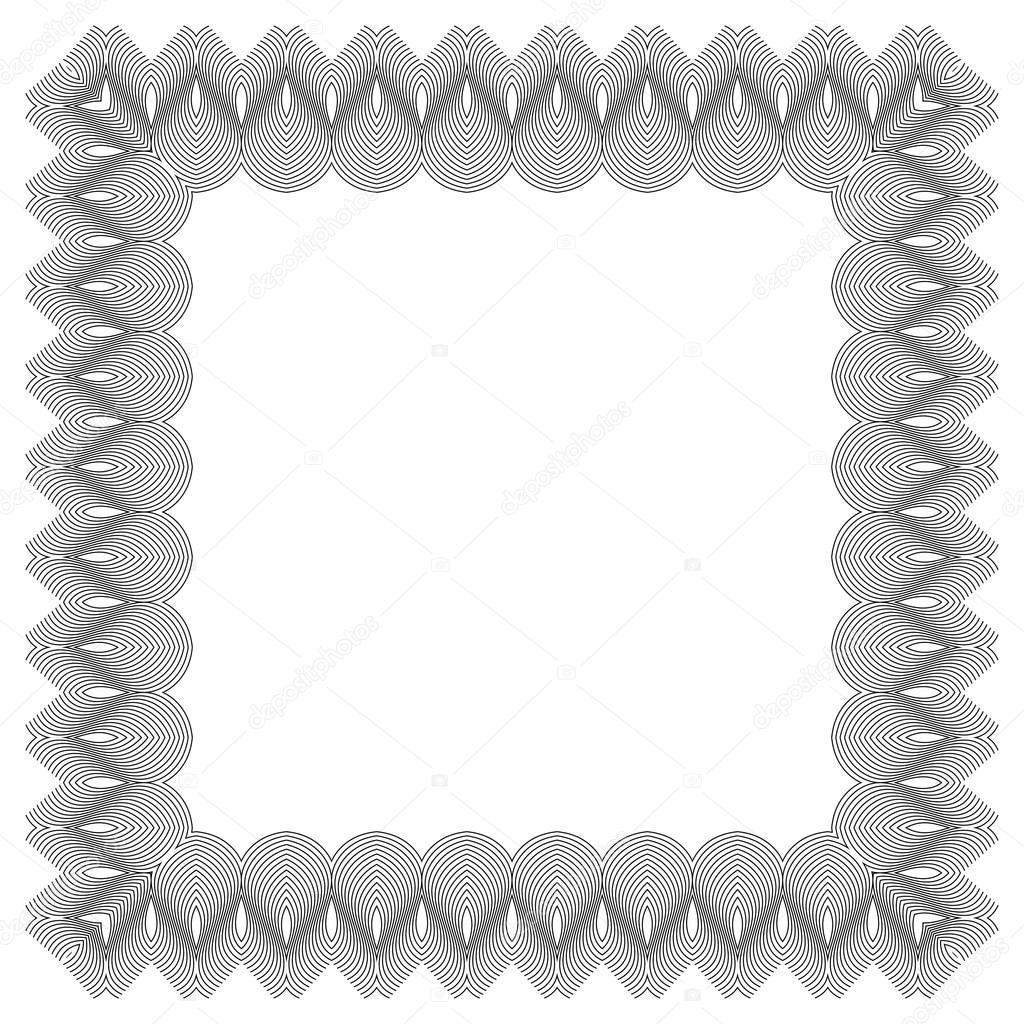 ornate frame vector stock vector tanuna 95516896
