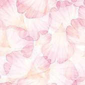 Fotografie Watercolor Seamless pattern with flower petals