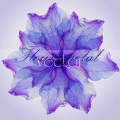 Fényképek szirmok lila virág mintával