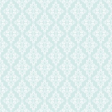 Vintage  Pattern with damask elements