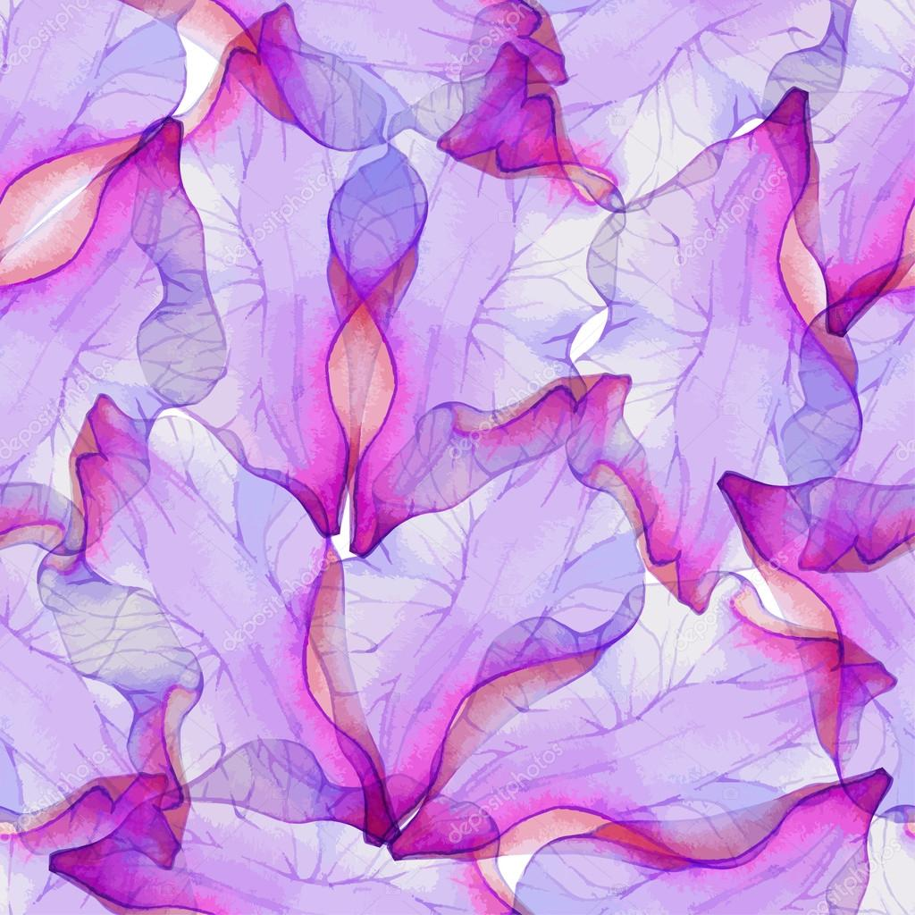 Seamless pattern with purple flower petals stock vector seamless pattern with purple flower petals stock vector mightylinksfo