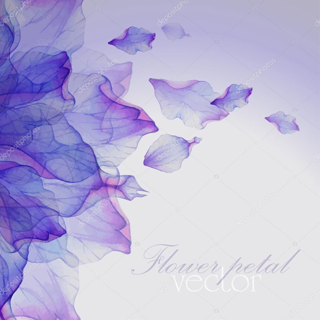 Pattern with purple flower petals stock vector lovelava 91199788 pattern with purple flower petals stock vector mightylinksfo