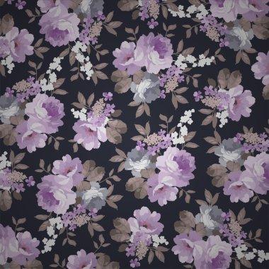 Beautiful floral seamless pattern