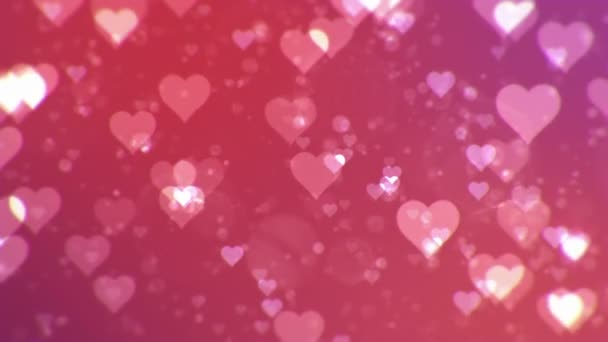Valentines day abstract background,loopable.