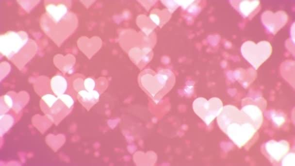 Den svatého Valentýna abstraktní pozadí, loopable.