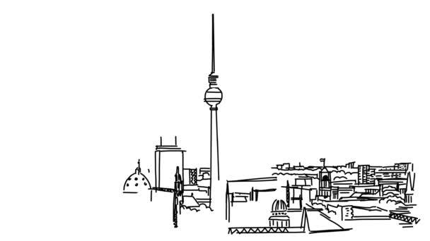 Berlin City osnovy animace