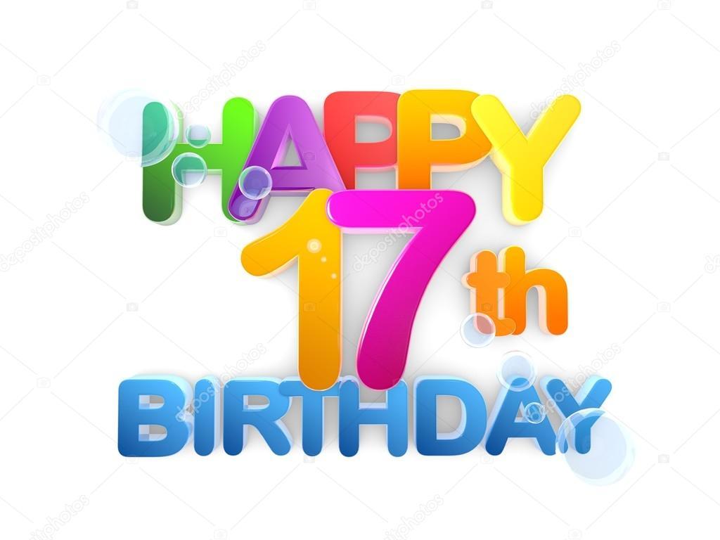boldog 17 születésnapot 17. Boldog születésnapot cím fény — Stock Fotó © mail.hebstreit  boldog 17 születésnapot