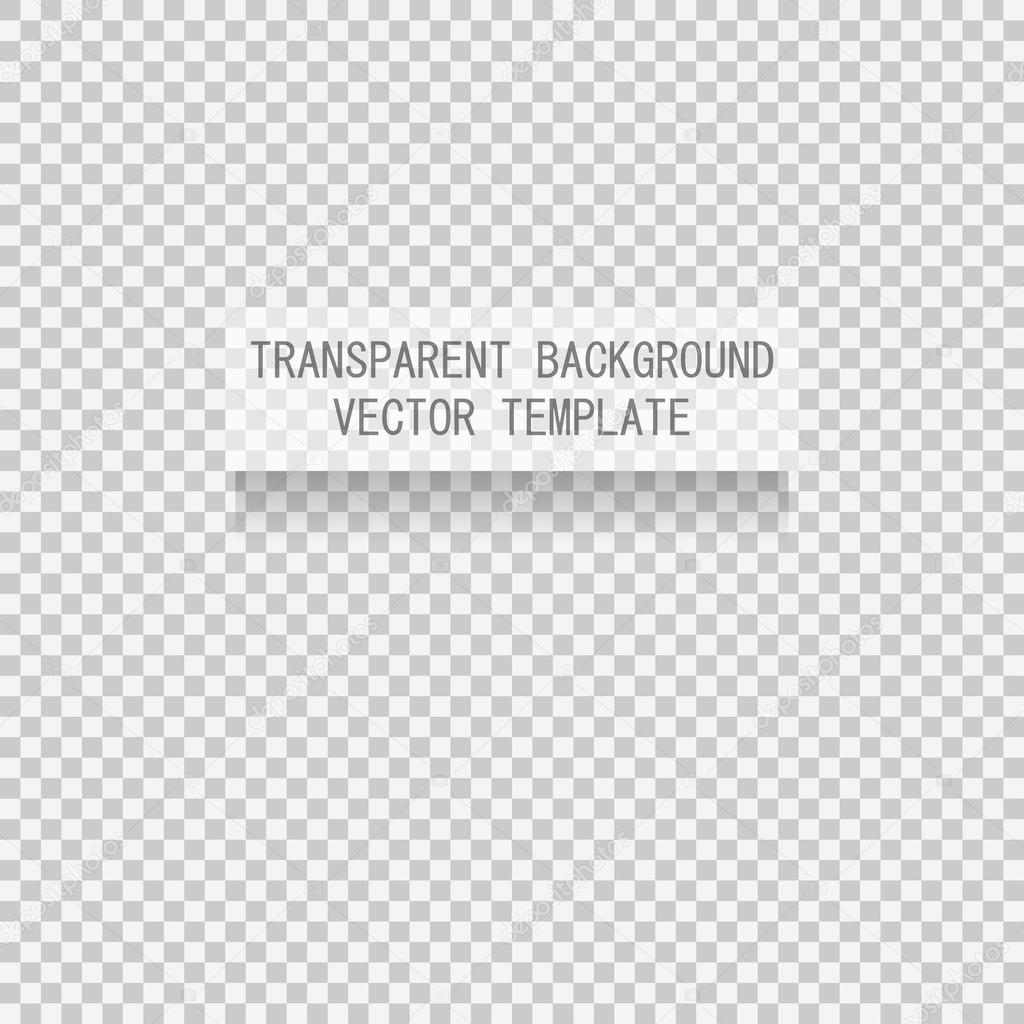 vector transparent background template stock vector sunnyred