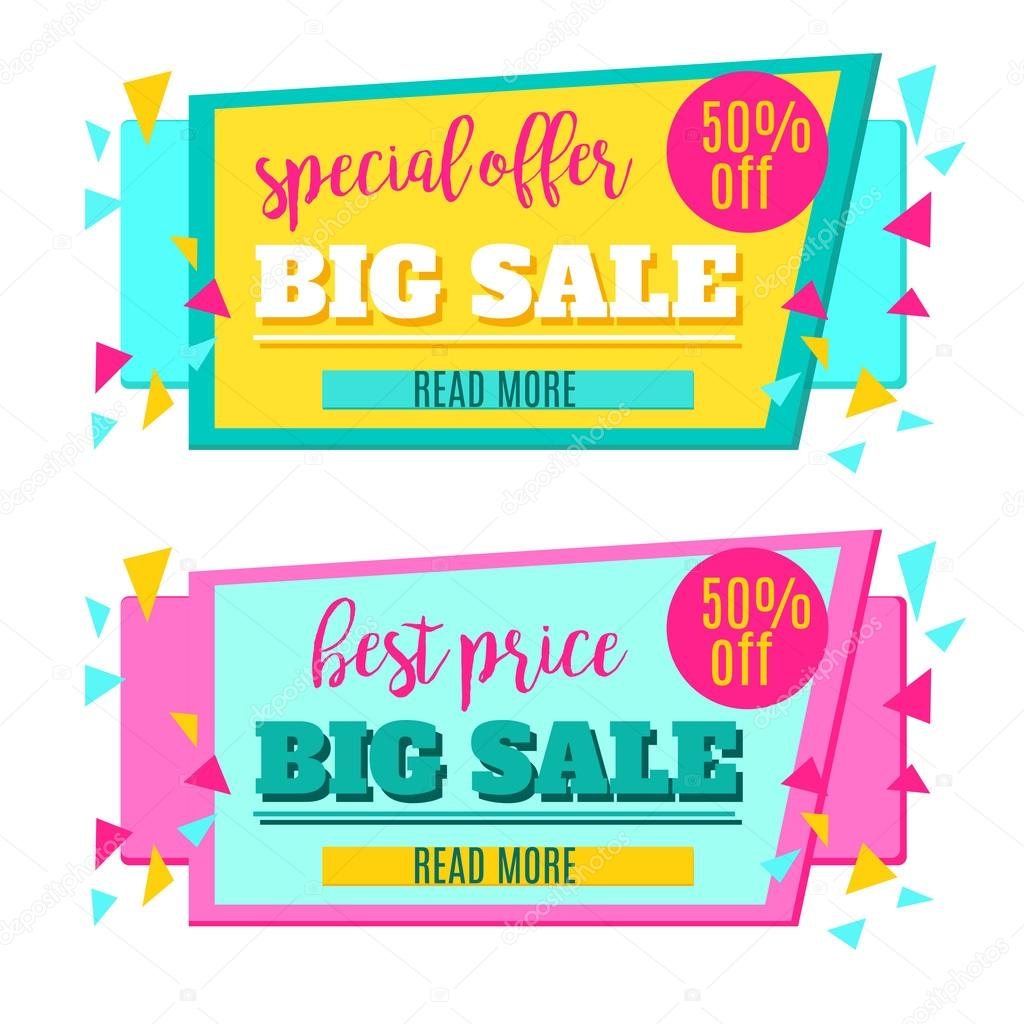 big sale paper banner sale background sale tag sale poster sale