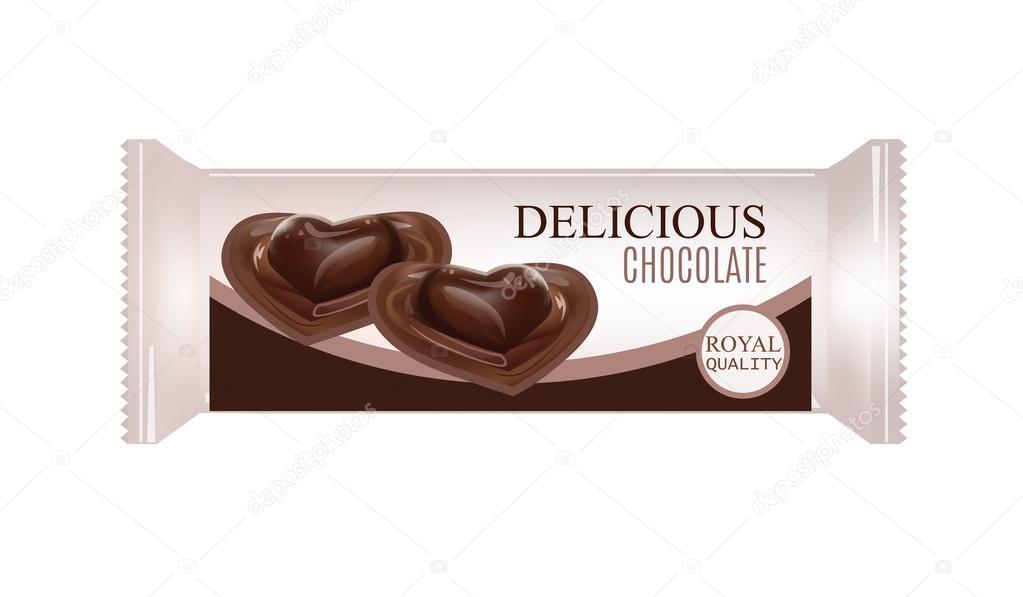 Vectores Para Chocolates Vector Alimentos Envases Para Galletas
