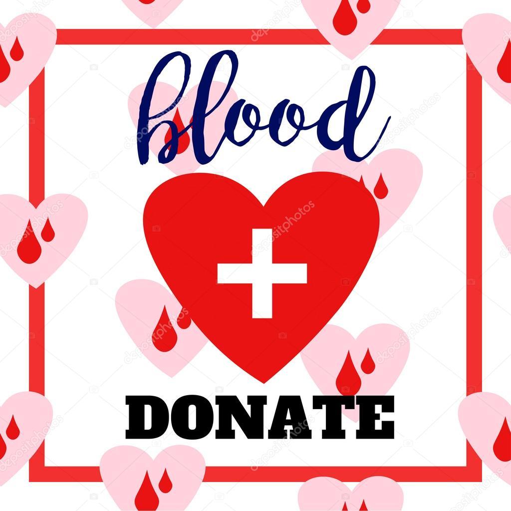 Blood donation symbol two hearts with cross and blood drops blood donation symbol two hearts with cross and blood drops connected flat logo design buycottarizona