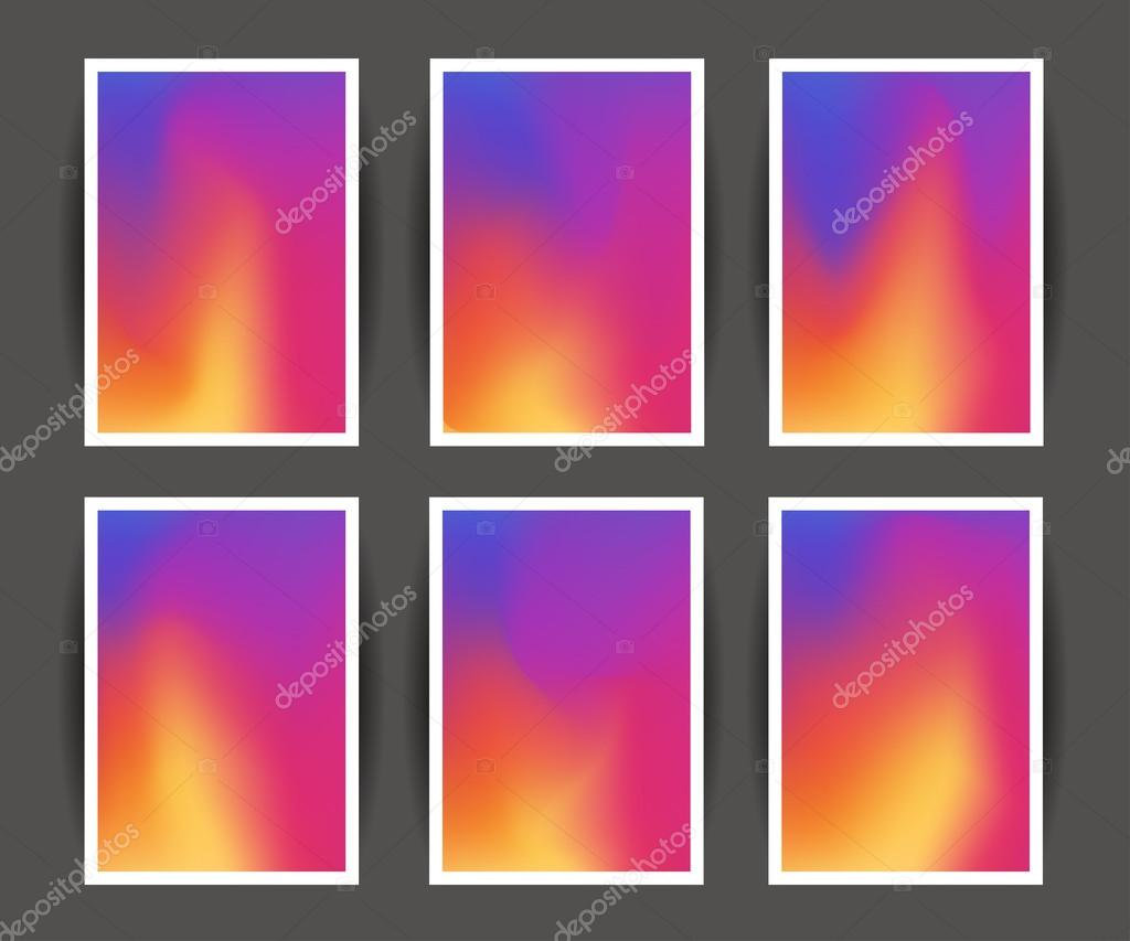 Bright colorful holographic background set design for greeting card bright colorful holographic background set design for greeting card report cover book kristyandbryce Gallery