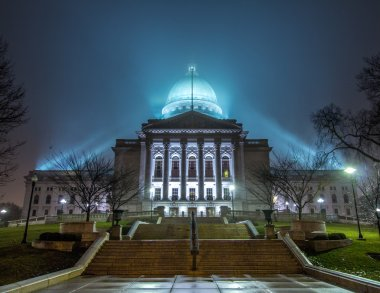 The State Capitol of Wisconsin