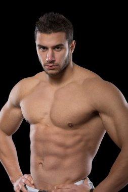 Handsome muscular men.