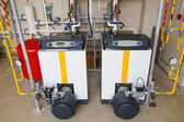 Fotografie Industrie Gas-Kessel-Wasser-Heizung