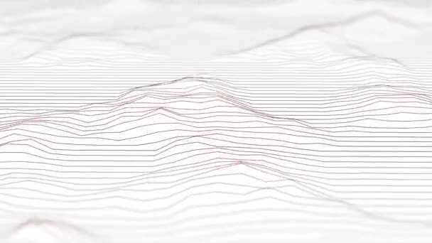 Photo Modern design sound wave looped animation in high resolution