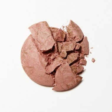 crushed pink blush eyeshadow