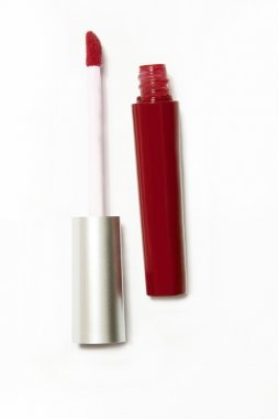 red lip gloss package