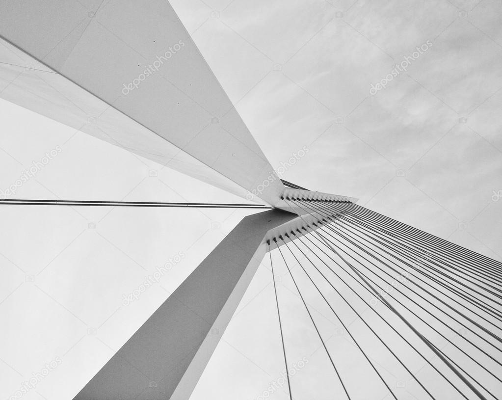 The structure of a modern bridge