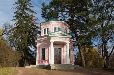 Pink Pavilion in park